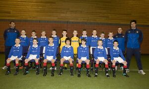 Soccer - Rangers Under 11s Team Shot - Murray Park