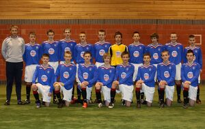 Soccer - Rangers - Under 15/17 Team Group - Murray Park