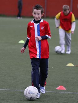 Soccer - Rangers Easter Soccer School - Ibrox Soccer Complex - Perth