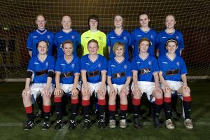 Soccer - Rangers Girls U17's Team - Murray park