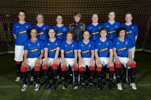<b>Rangers Ladies and U17 Team and Headshots</b><br>Selection of 24 items
