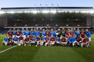 Rangers 1-0 AC Milan Glorie (Selection of 117 Items)