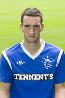 Soccer - Rangers Player Head Shot - Ibrox Stadium