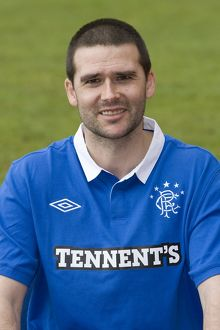 Soccer - Rangers Player Head Shots - Murray Park