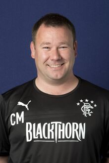 Soccer - Rangers Reserves/Youths Coach Head Shot - Murray Park