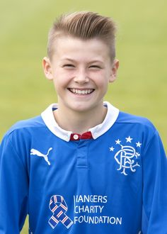 trophies/scottish cup winners 2003/soccer rangers reserves youths head shot murray