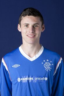 Soccer - Rangers U17's Head Shot - Murray Park