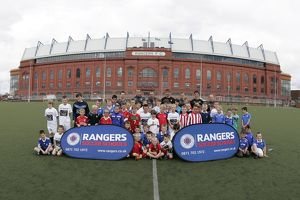 <b>Soccer School Ibrox Complex August 10</b><br>Selection of 35 items