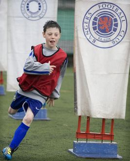 Soccer - Rangers Summer Roadshow - Gannochy Sports Centre - Stirling University