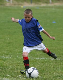 Soccer - Rangers Summer Roadshow - Renfrew Juniors FC Ground