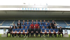 Soccer - Rangers Team Photocall 2009/10 - Ibrox Stadium