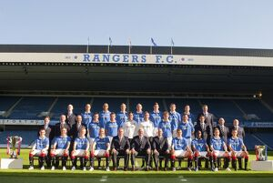 <b>2010-11 Rangers Team</b><br>Selection of 45 items