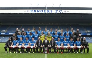 <b>Rangers Team 2013-14</b><br>Selection of 32 items