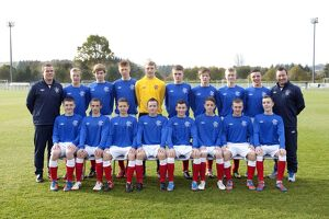 Soccer - Rangers U15 's Team Picture - Murray Park