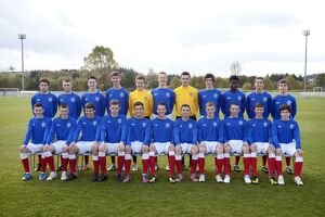 Soccer - Rangers U16/17 's Team Picture - Murray Park