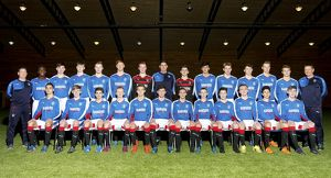 Soccer - Rangers U17 Team Picture - Murray Park