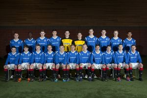Soccer - Rangers U17's Team Shot - Murray Park
