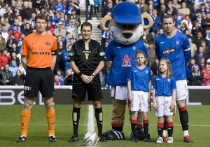 Soccer - Rangers v Dundee United - Active Nation Cup - Quarter Final - Ibrox