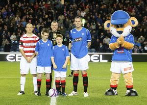 Soccer - Rangers v Hamilton - Co-operative Insurance Cup - Fourth Round - Ibrox