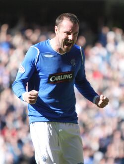 Soccer - Rangers v Motherwell - Clydsedale Bank Premier League - Ibrox