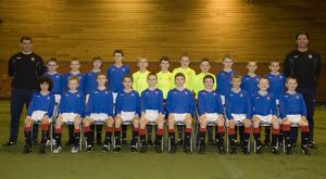 Soccer - Rangers - Youth Player Under 11s Team Group - Murray Park