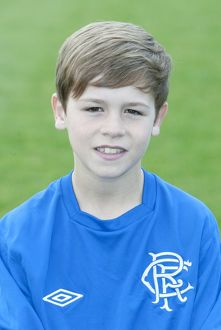 Soccer - Rangers Youths Head Shots - Murray Park