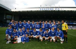 Soccer - Nine in a Row Ten Year Anniversary- Rangers Select v Scottish League Select
