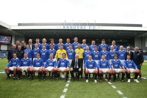 Soccer - Nine in a Row Ten Year Anniversary- Rangers Select v SPL Select- Ibrox