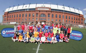 <b>Soccer School Ibrox Complex July 11</b><br>Selection of 34 items