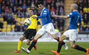 Soccer - Scottish Championship - Livingston v Rangers - The Energy Assets Arena