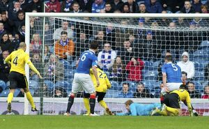 Soccer - Scottish Championship - Rangers v Livingston - Ibrox Stadium