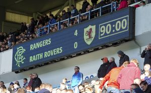 Soccer - Scottish Championship - Rangers v Raith Rovers - Ibrox Stadium