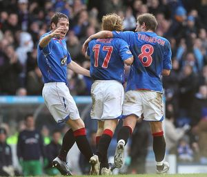 Soccer - Scottish Cup - Fifth Round Replay - Rangers v Hibernian - Ibrox