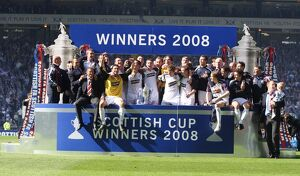 <b>Scottish Cup Final Winners 2008</b><br>Selection of 139 items