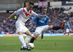 Soccer - Scottish League One - Rangers v Airdrieonians - Ibrox