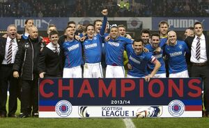 <b>Rangers 3-0 Airdrieonians</b><br>Selection of 50 items