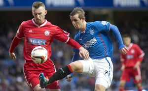 <b>Rangers 2-1 Brechin City</b><br>Selection of 35 items