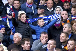 Soccer - Scottish Premiership - Play Off Final - First Leg - Rangers v Motherwell