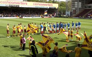Soccer - Scottish Premiership - Play Off Final - Second Leg - Motherwell v Rangers