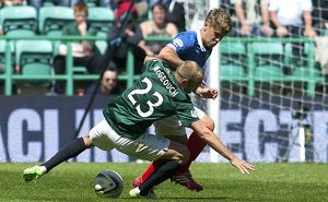 Soccer - Scottish Premiership - Play Off - Semi Final Second Leg - Hibernian v Rangers