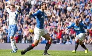 Soccer - SPFL Championship - Rangers v Queen of the South - Ibrox Stadium