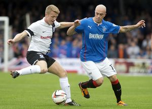Soccer - SPFL League 1 - Ayr United v Rangers - Somerset Park
