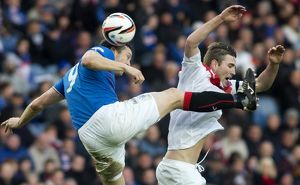 Soccer - SPFL League 1 - Rangers v Airdrieonians - Ibrox Stadium