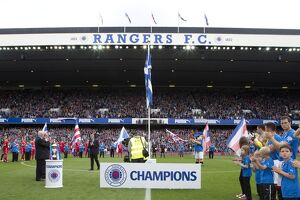<b>Rangers 4-1 Brechin City</b><br>Selection of 96 items