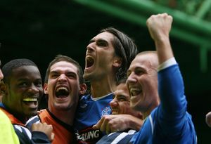 <b>Celtic 2-4 Rangers</b><br>Selection of 37 items