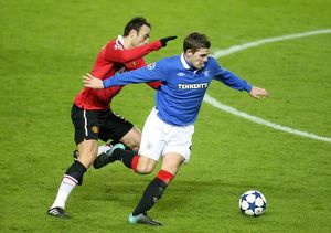 Soccer - UEFA Champions League - Group C - Rangers v Manchester United - Ibrox Stadium