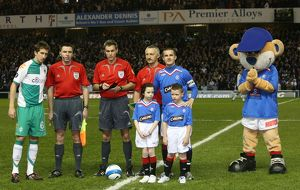 european nights/soccer uefa cup round 16 first leg rangers
