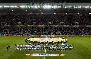 european nights/rangers 0 1 psv eindhoven/soccer uefa europa league round 16 second