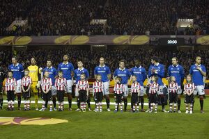 european nights/rangers 0 1 psv eindhoven/soccer uefa europe league round 16 second