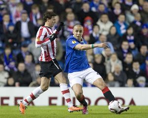 Soccer - UEFA Europe League - Round of 16 - Second Leg - Rangers v PSV Eindhoven